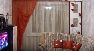 как подобрать шторы в спальню по цвету обоев