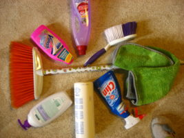 Быстрая уборка в доме за 15 минут