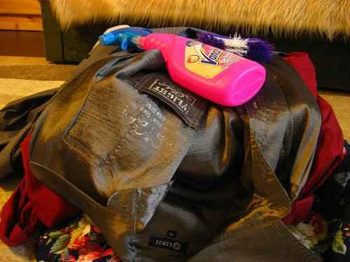 Как убрать жевательную резинку с одежды в домашних условиях