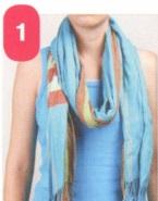 Как завязать шарф на шее разными способами фото