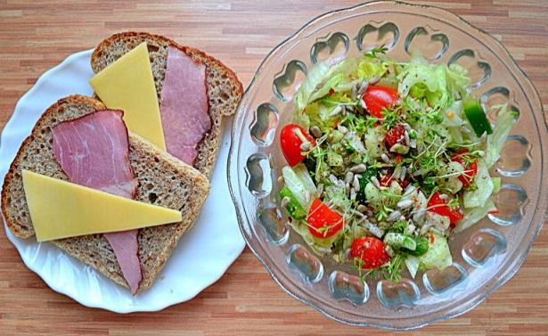 Четвёртый день сбалансированного питания для похудения