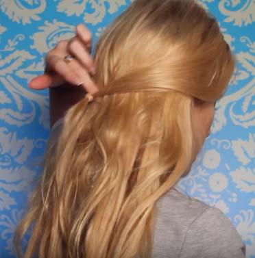 Как сделать праздничную причёску из трёх кос своими руками
