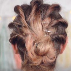 Причёски на средние волосы в домашних условиях с фото и пошаговыми инструкциями