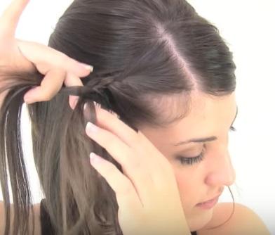 Ассиметричная причёска на короткие волосы - Шаг 4