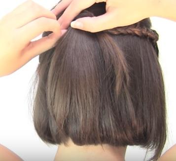Ассиметричная причёска на короткие волосы - Шаг 6