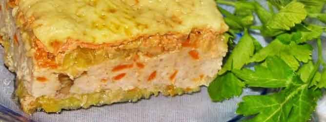 Мясная запеканка - это очень интересные блюдо из фарша приготовленного в духовке
