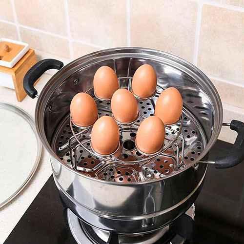 Как ещё можно варить яйца пропаривание