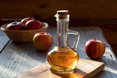 Яблочный уксус - средство от зуда от укусов комаров
