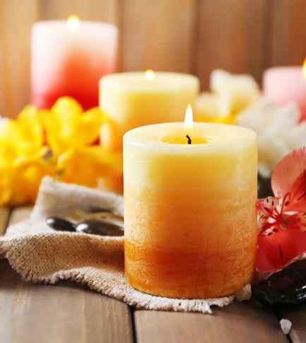 Ароматизированные свечи от неприятных запахов