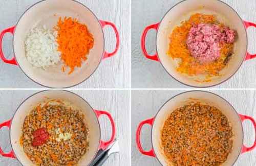 Гречневая каша со свининой 3