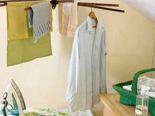 Как сушить одежду дома