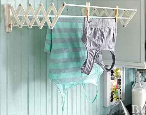 Как правильно сушить рубашки и топы