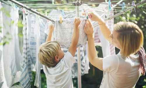 Как правильно высушить одежду