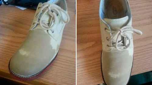 Как убрать заломы на кожаной обуви 7