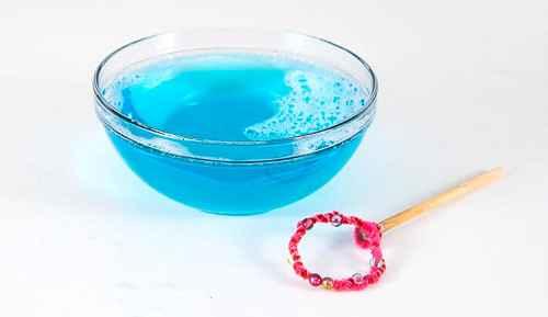 Как сделать в домашних условиях мыльные пузыри 3