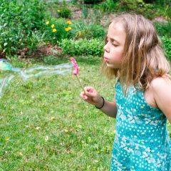 Как сделать мыльные пузыри в домашних условиях как магазинные