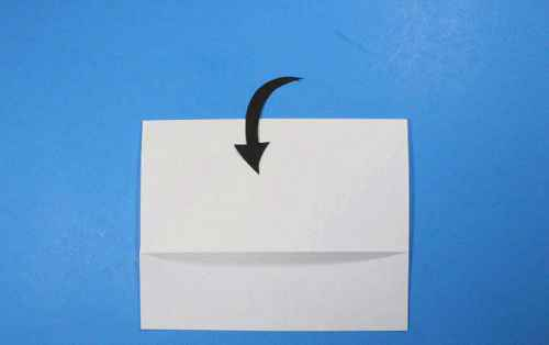 Как сделать из бумаги самолётик Летающий Ниндзя - Шаг 7.2