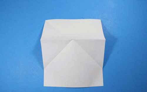 Как сделать из бумаги самолётик Летающий Ниндзя - Шаг 9