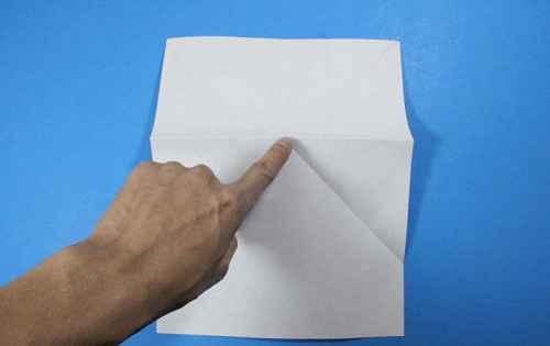 Как сделать из бумаги самолётик Летающий Ниндзя - Шаг 10.1