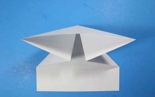 Как сделать из бумаги самолётик Летающий Ниндзя - Шаг 11.1