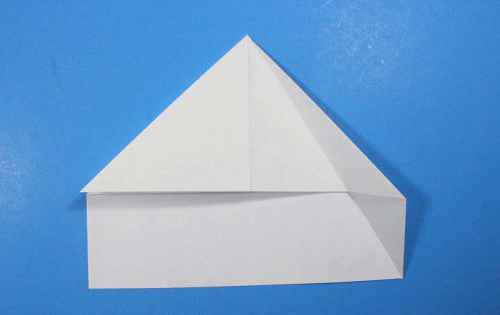 Как сделать из бумаги самолётик Летающий Ниндзя - Шаг 13.1