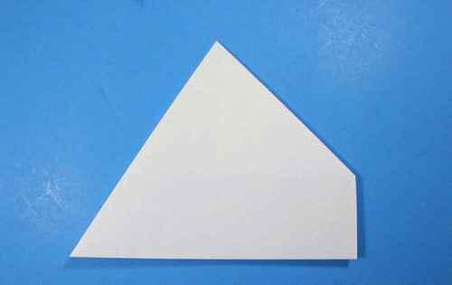 Как сделать из бумаги самолётик Летающий Ниндзя - Шаг 14