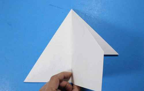 Как сделать из бумаги самолётик Летающий Ниндзя - Шаг 15.1