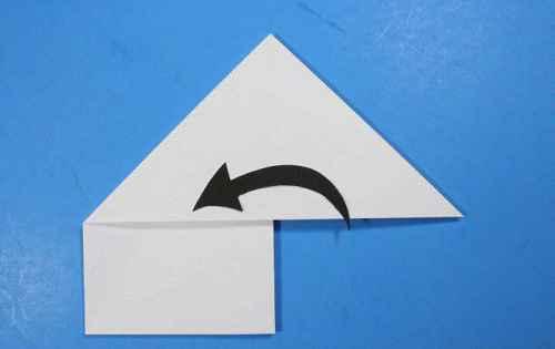 Как сделать из бумаги самолётик Летающий Ниндзя - Шаг 15.2