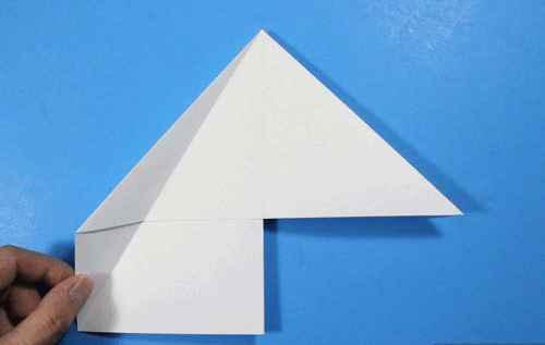 Как сделать из бумаги самолётик Летающий Ниндзя - Шаг 16.1