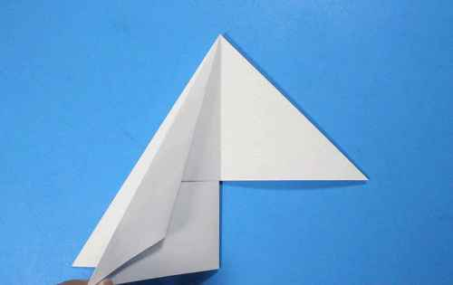 Как сделать из бумаги самолётик Летающий Ниндзя - Шаг 17.1