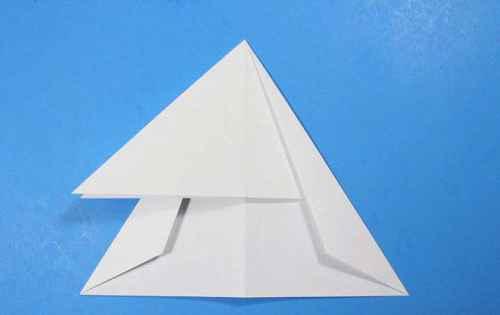 Как сделать из бумаги самолётик Летающий Ниндзя - Шаг 18