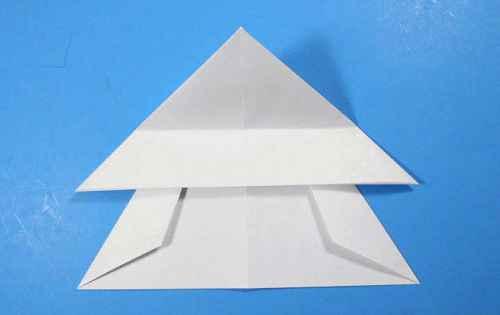 Как сделать из бумаги самолётик Летающий Ниндзя - Шаг 20.1
