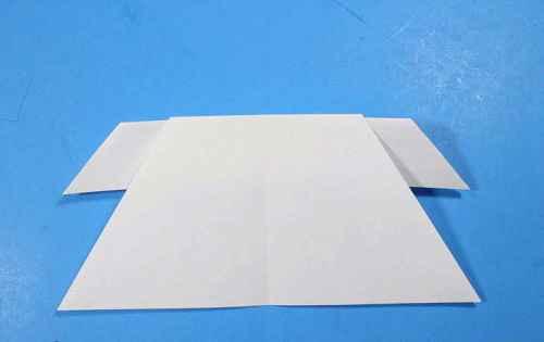 Как сделать из бумаги самолётик Летающий Ниндзя - Шаг 22