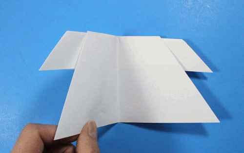 Как сделать из бумаги самолётик Летающий Ниндзя - Шаг 23.1