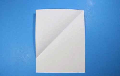 Как сделать из бумаги самолётик Летающий Ниндзя - Шаг 3
