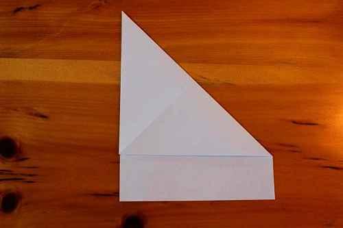 Как сделать из бумаги самолётик Хаммер - Шаг 2.1