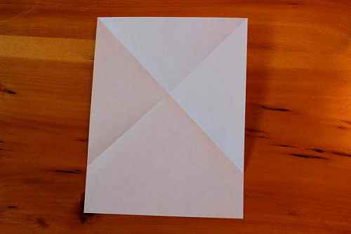 Как сделать из бумаги самолётик Хаммер - Шаг 2.2