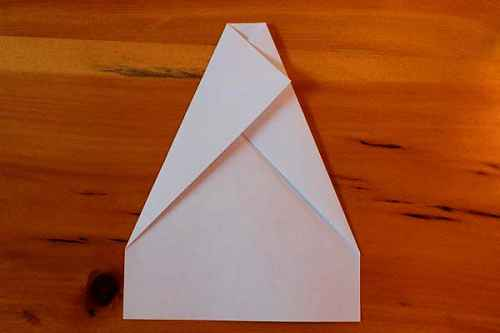 Как сделать из бумаги самолётик Хаммер - Шаг 4