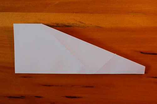 Как сделать из бумаги самолётик Хаммер - Шаг 5