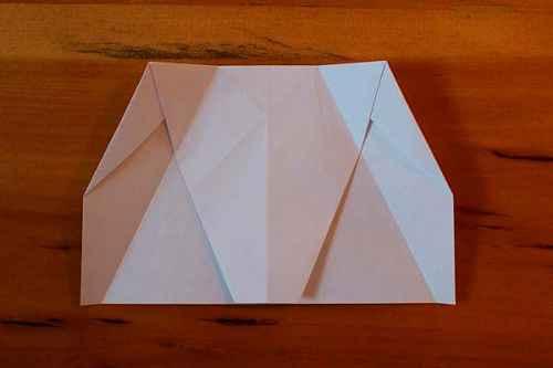Как сделать из бумаги самолётик Хаммер - Шаг 8