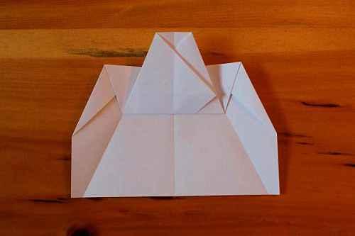 Как сделать из бумаги самолётик Хаммер - Шаг 9