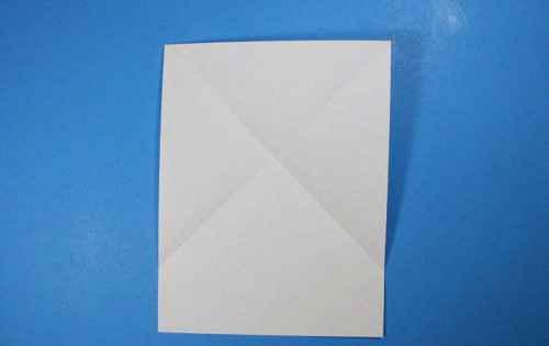 Как сделать из бумаги самолётик Летающий Ниндзя - Шаг 5