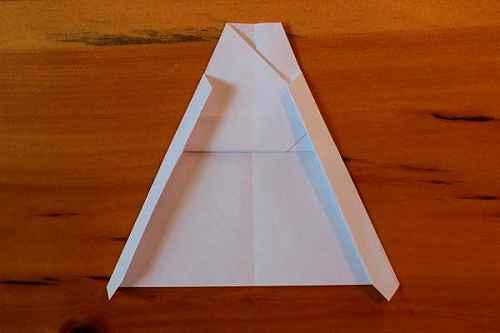 Как сделать из бумаги самолётик Хаммер - Шаг 11.2