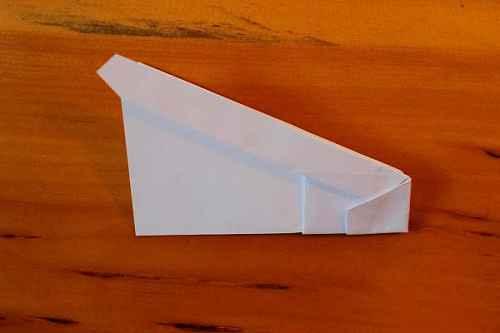 Как сделать из бумаги самолётик Хаммер - Шаг 13