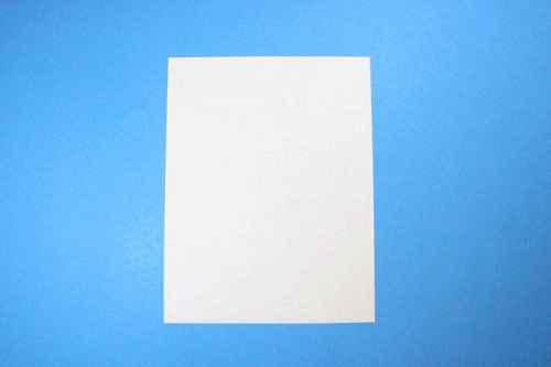 Как сделать из бумаги самолётик Летающий Ниндзя - Шаг 1