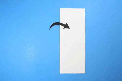 Как сделать из бумаги самолётик Шпион - Шаг 2