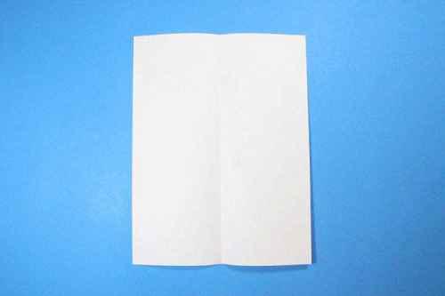 Как сделать из бумаги самолётик Шпион - Шаг 3