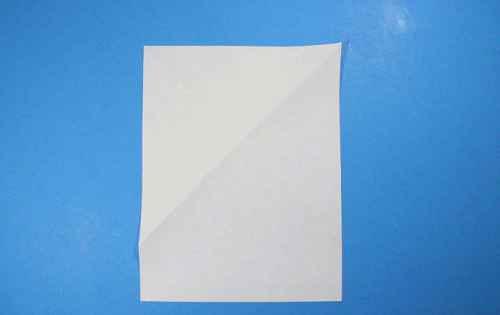 Как сделать из бумаги самолётик Летающий Ниндзя - Шаг 6