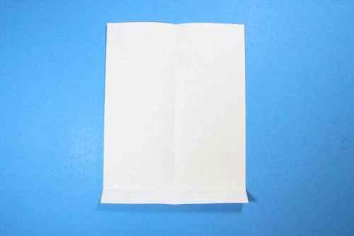 Как сделать из бумаги самолётик Шпион - Шаг 4.1