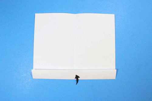 Как сделать из бумаги самолётик Шпион - Шаг 5.1